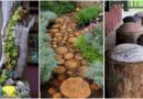 Increíbles formas de decorar tu pequeño jardín